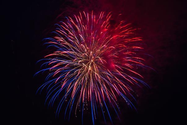 Fireworks Display July 2015