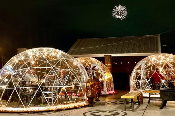 Three Rivers Distilling Company Igloos