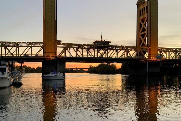 River City Queen View of Towner Bridge