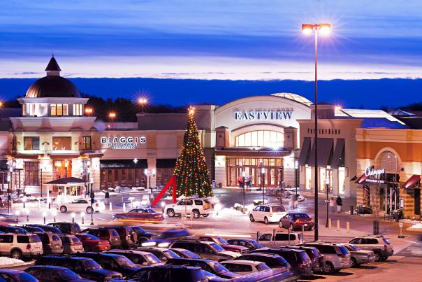 Finger Lakes Eastview Mall Victor Christmas