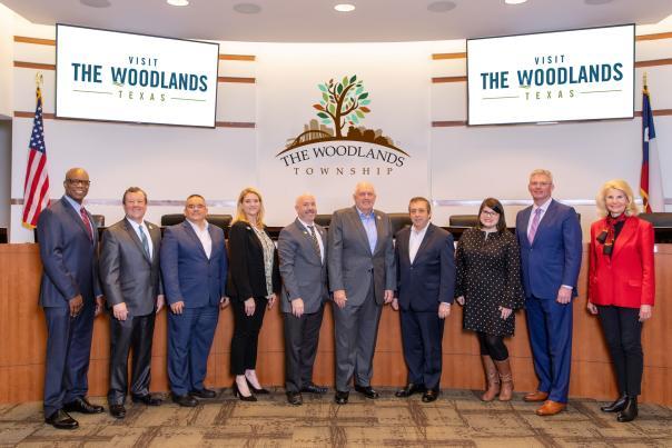 Visit The Woodlands 2020 Board of Directors