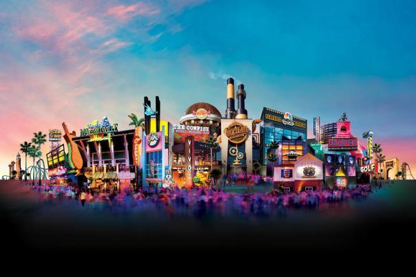 Universal CityWalk scope