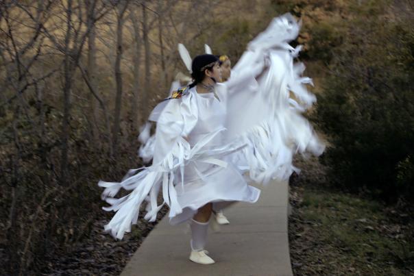 Still from Elisa Harkins's Honor Beats at 516 Arts