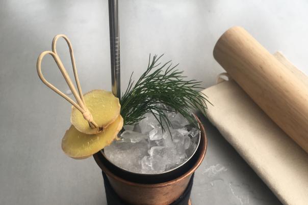Aquavitus Mule Cocktail