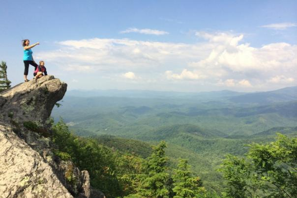 At The Blowing Rock