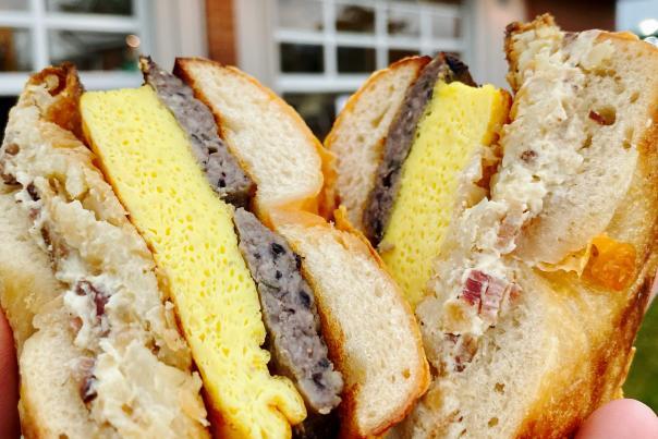 Shop Two Sixty - Bagel Breakfast Sandwich