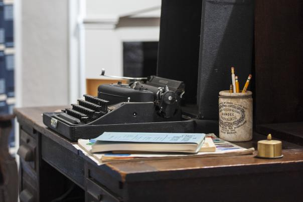 Flannery O'Connor's typewriter at Andalusia