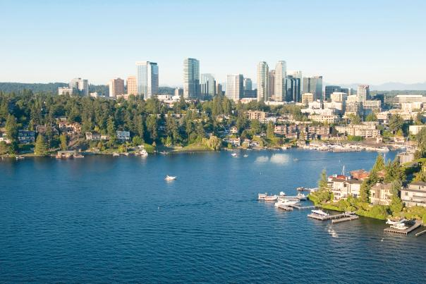 Bellevue Downtown - Lake Washington & Skyline