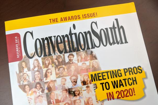 ConventionSouth Magazine Cover - December 2019