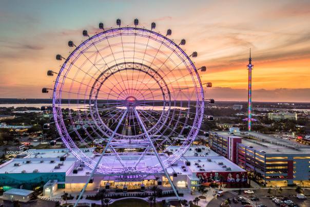 web banner of ICON Orlando for Orlando Travel Academy website