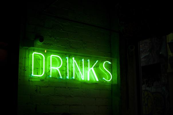 Drinks - Neon Sign