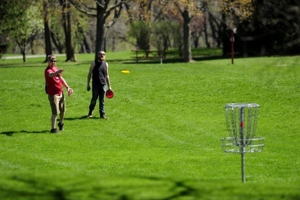 Disc Golf at Fox River Park