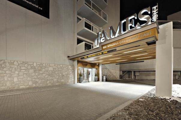 The James Hotel exterior