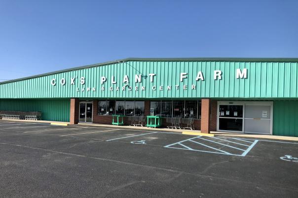 Cox's Plant Farm exterior
