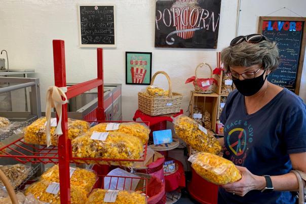 PopAKernel Popcorn shopper