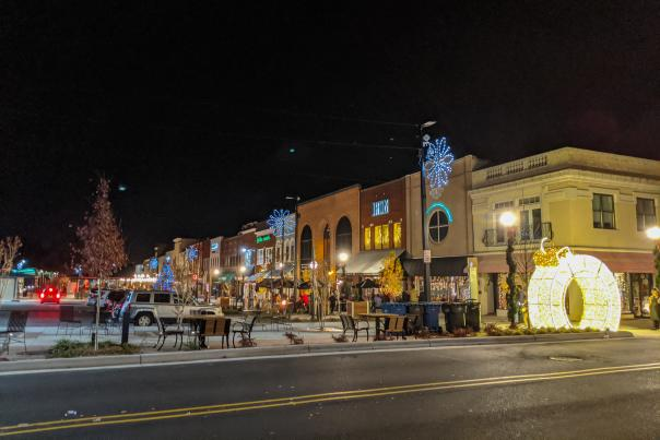 Downtown Hickory Shops Christmas