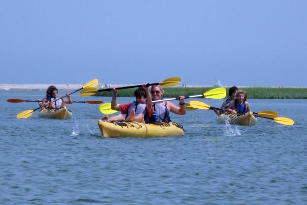 Kayaking on Cape Cod