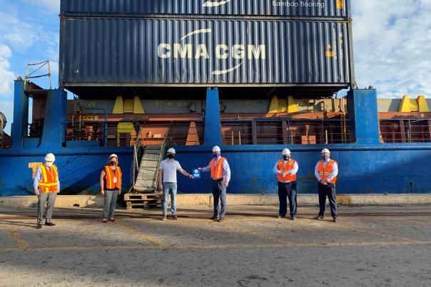 Port Everglades welcomes CMA CGM Lines new Flamingo Service.