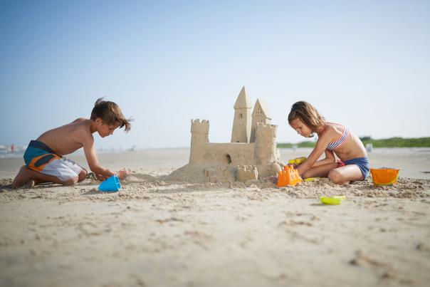 Sand Castle-Port Aransas-Beach-H