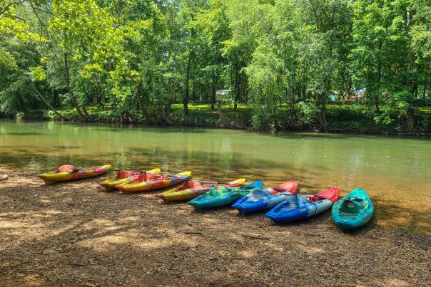 NACK kayaking on the Flint River by Jenn Coleman Coleman Concierge