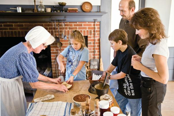 Family at Genesee Country Village & Museum