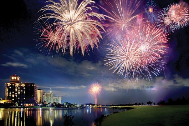 The Ritz-Carlton Orlando, Grande Lakes fireworks at Grande Lakes Orlando