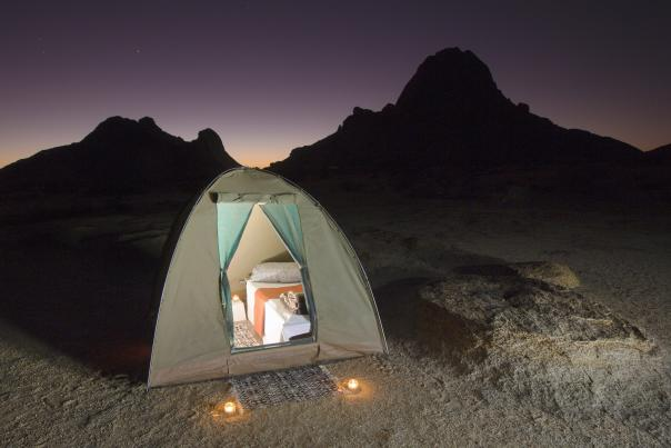 Glamorous camping in the middle of the desert in Greater Palm Springs.