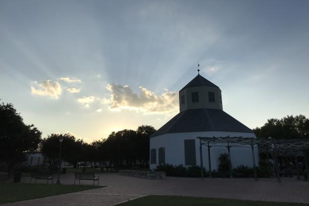 Vereins Kirche at Sunset