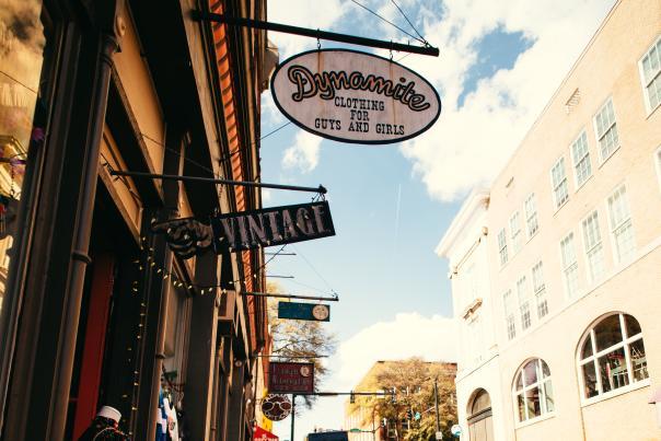 Downtown Athens Vintage Shop- Dynamite