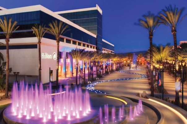 Hilton Anaheim and Grand Plaza
