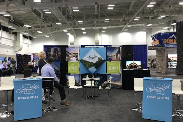 Connect Marketplace Convention Sales Booth
