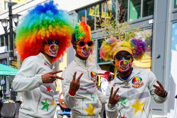 UniverSoul Circus Clowns