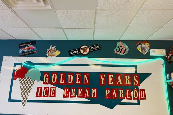 Golden Years Ice Cream Parlor