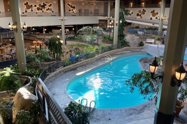 Saskatoon Inn WFH pool area