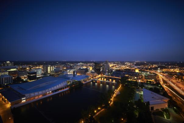 Grand Rapids at Night