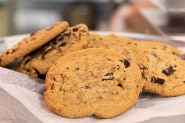 Chocolate Chip Cookies at Lindi's in Fort Wayne, Indiana