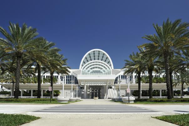 Exterior of the South Concourse of the Orange County Convention Center
