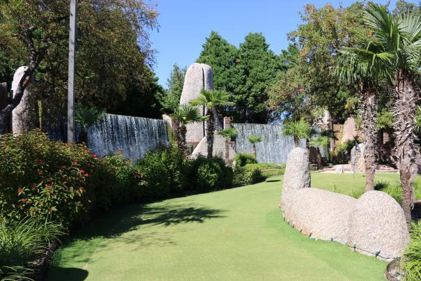 Mini golf course. Courtesy of Horseshoe Bay Resort.
