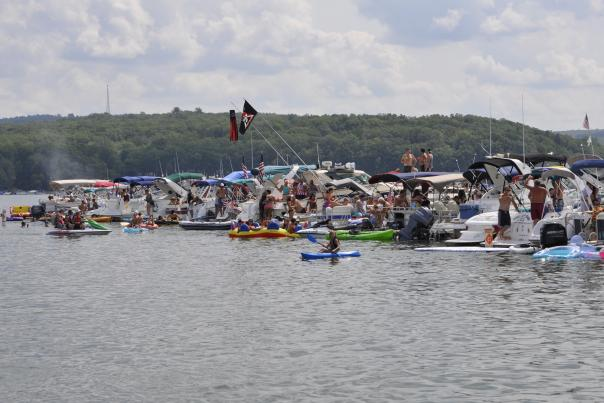 Wally Lake Fest held August 23-25, 2019 in the Pocono Mountains