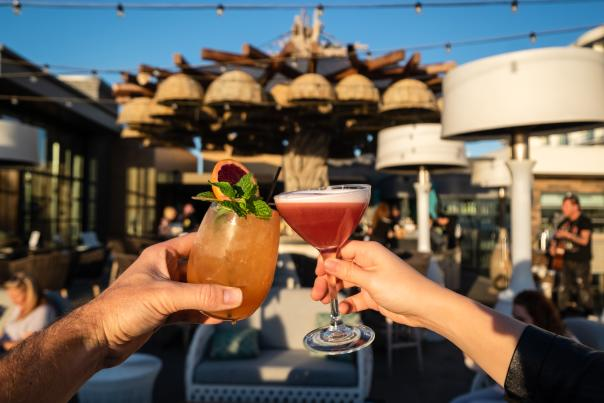 Tanner's Treehouse Couple Drinks