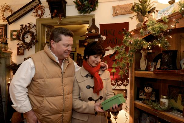 Holiday Shopping in the Poconos