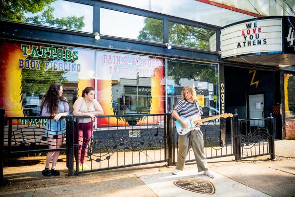 Athens Music Walk of Fame Vic Chesnutt 40 Watt