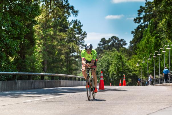 IRONMAN Bike Course in The Woodlands