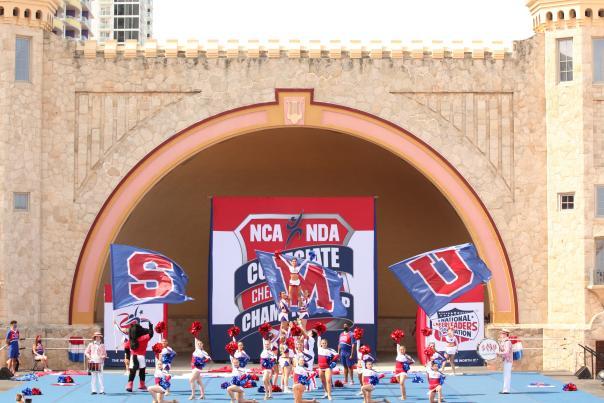 NCA NDA Collegiate Cheer and Dance Championship in Daytona Beach, Florida