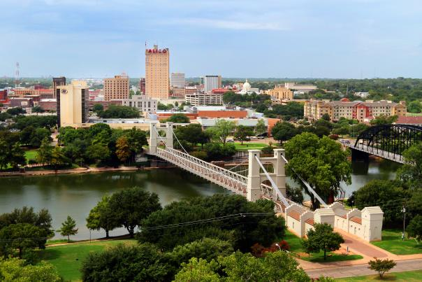 Waco Suspension Bridges, courtesy of Visit Waco.