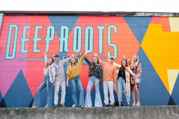Deep Roots Wall