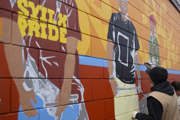 Sheldon Pierre Louis - Rutland Mural Project