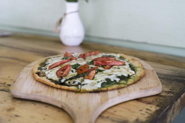 Pizza From Golden Isles Olive Oil Restaurant