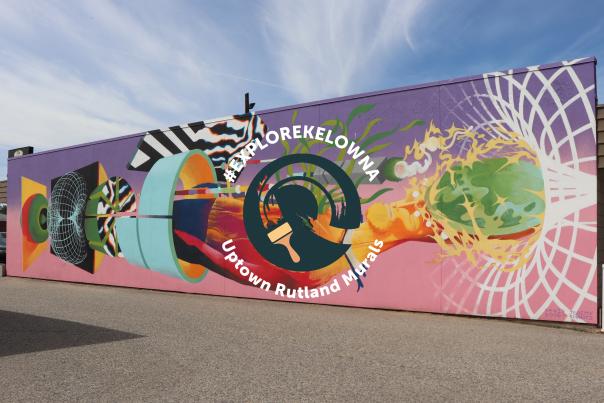 exploreKelowna Uptown Rutland Murals - Website Header Image Option 2