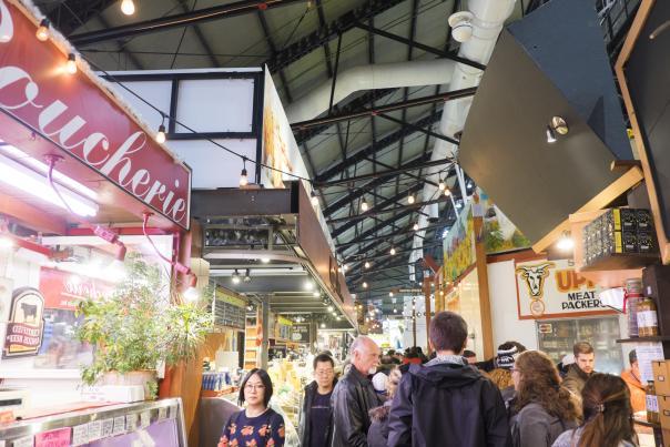 Inside Toronto's historic St Lawrence Market